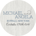 buffalo wedding october